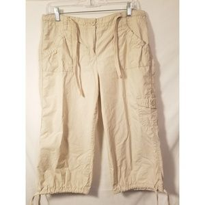 NEW YORK & CO. CROPPED PANTS SIZE 10